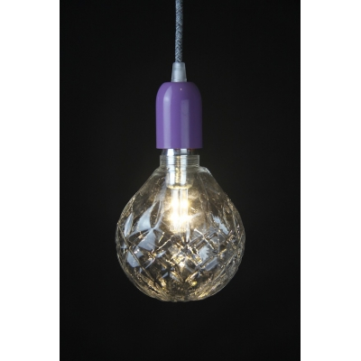 Crystal LED Light Bulb: Clear