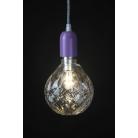 Crystal LED Light Bulb: Clear