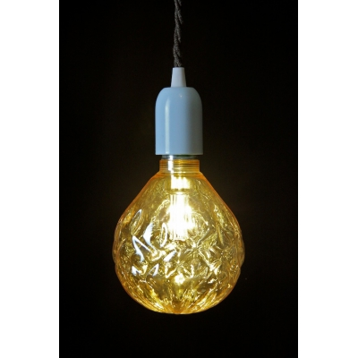 Crystal LED Light Bulb: Champagne
