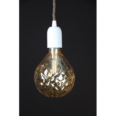 Crystal LED Light Bulb: Champagne