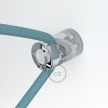 "Decentralizer, Transparent ""V"" ceiling or wall hook for any fabric electric cable"