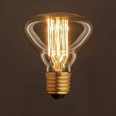 Vintage Golden Light Bulb BR95 Carbon Filament Cage 25W E27 Dimmable 2000K