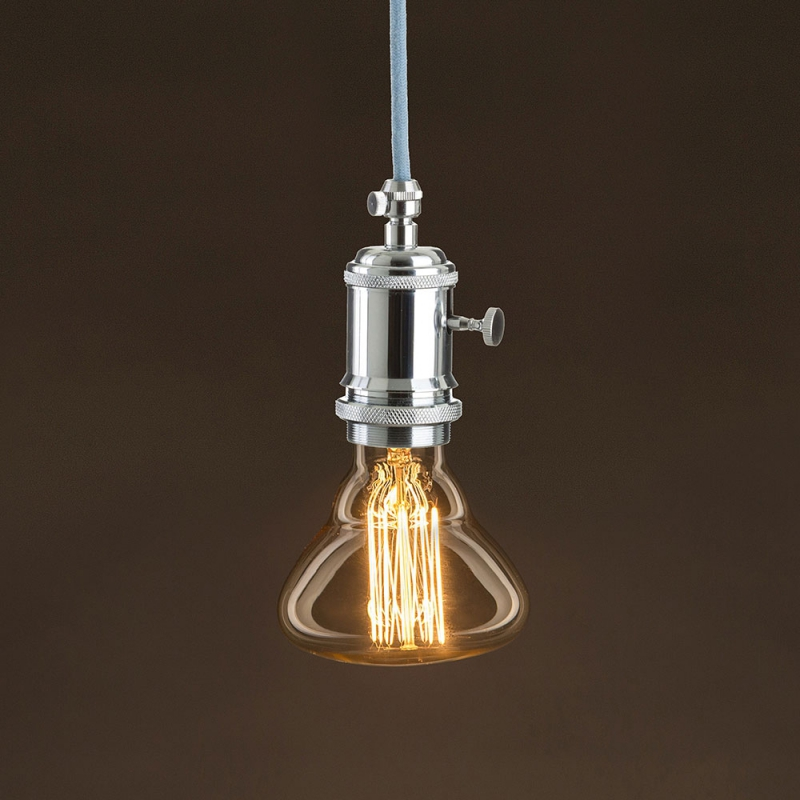 Vintage Golden Light Bulb BR95 Carbon Filament Cage 25W E27 Dimmable 2000K