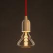 Vintage Golden Light Bulb BR95 Carbon Filament Double Spiral Curve 25W E27 Dimmable 2000K