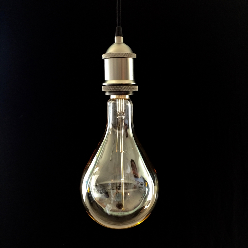 XXXL Filament Transparent Light Bulb- Droplet - 4W E40 Dimmable 2200K