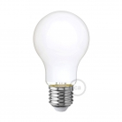LED Milky White Light Bulb - Drop A60 - 6W E27 Dimmable 2700K