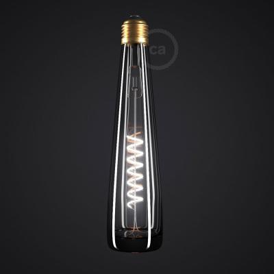 Black Bottle LED Designer Light Bulb 8W E27 Dimmable 2200K