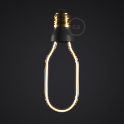 LED Art Tube Light Bulb 8W E27 Dimmable 2200K