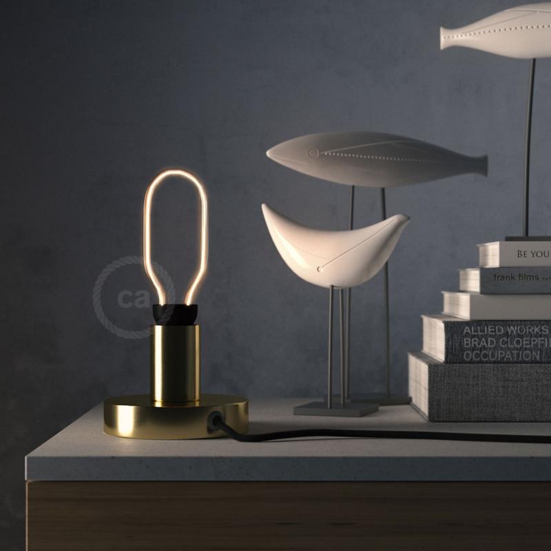 LED Art Tube Light Bulb 8W E27 Dimmable 2200K