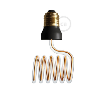 LED Art Loop Cross Light Bulb 12W E27 Dimmable 2200K
