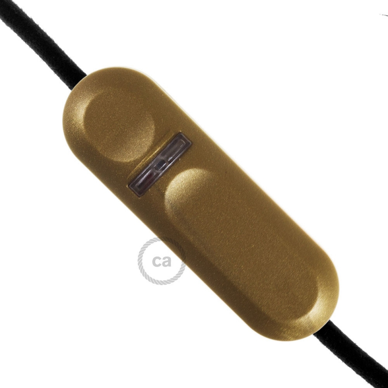 LED and traditional bulb Dimmer with golden inline switch