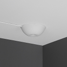 Cable Cup Hide White, silicone rosette, mounting instantaneous suitable for any ceiling
