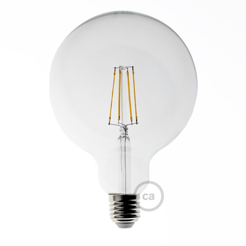 Light bulb filament Led Globe 8W E27 Clear