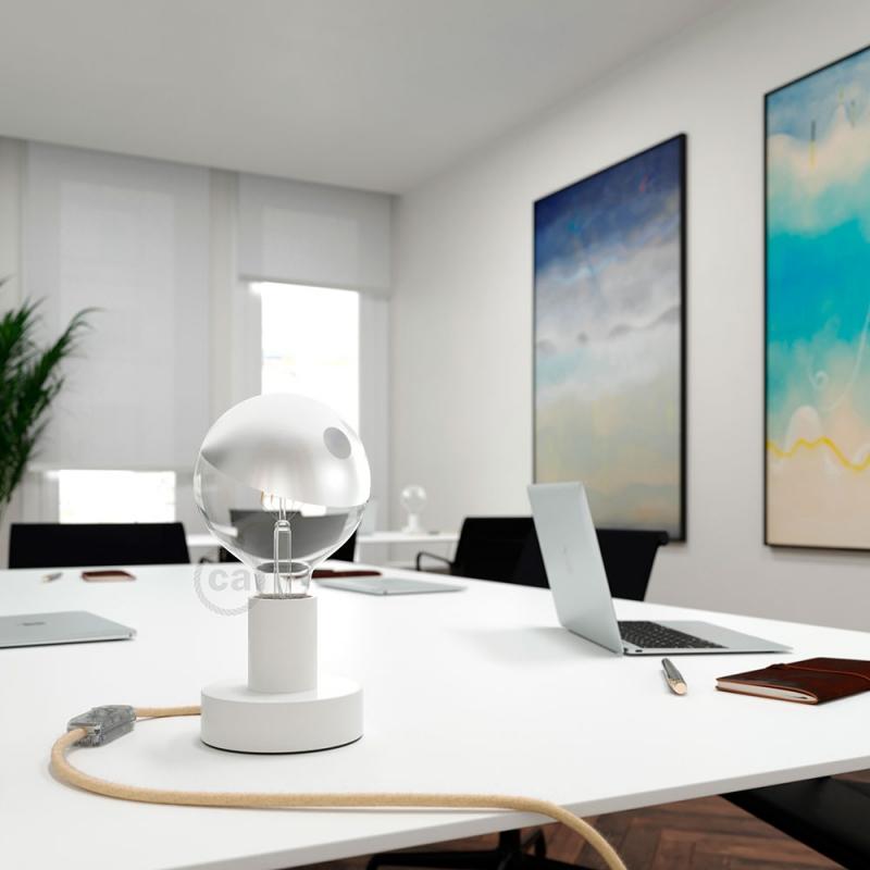 LED Light Bulb Globe G125 Curved Spiral Filament - Tattoo Lamp® Pio 4W E27 2700K