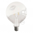 LED Light Bulb Globe G125 Curved Spiral Filament - Tattoo Lamp® Kiss 4W E27 2700K