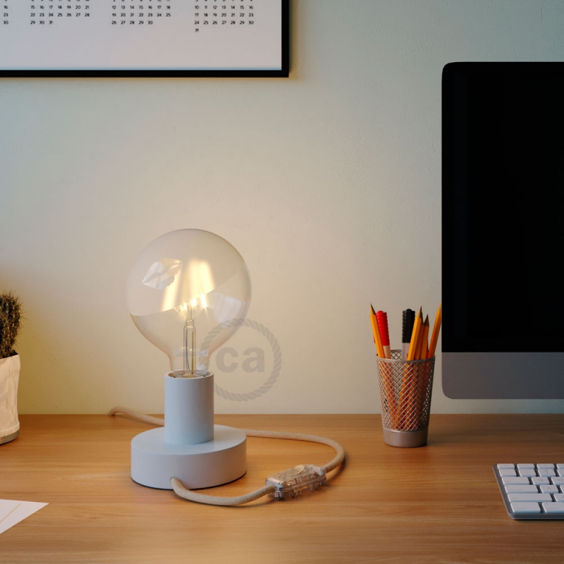 LED Light Bulb Globe G125 Curved Spiral Filament - Tattoo Lamp® Kiss 4W E27 2700K