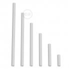 White metal extension pipe