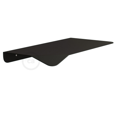 Magnetico®-Shelf Black, metal shelf for Magnetico®-Plug