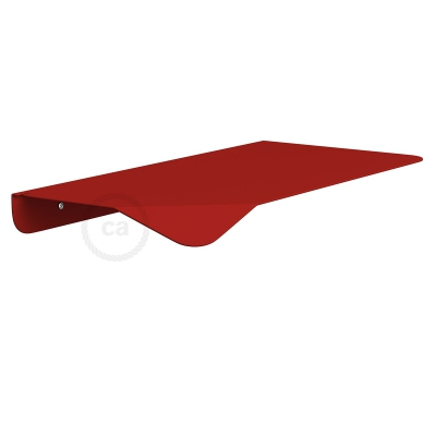 Magnetico®-Shelf Red, metal shelf for Magnetico®-Plug
