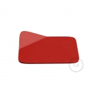 Magnetico®-Base Red, metal base for smooth surfaces for Magnetico®-Plug