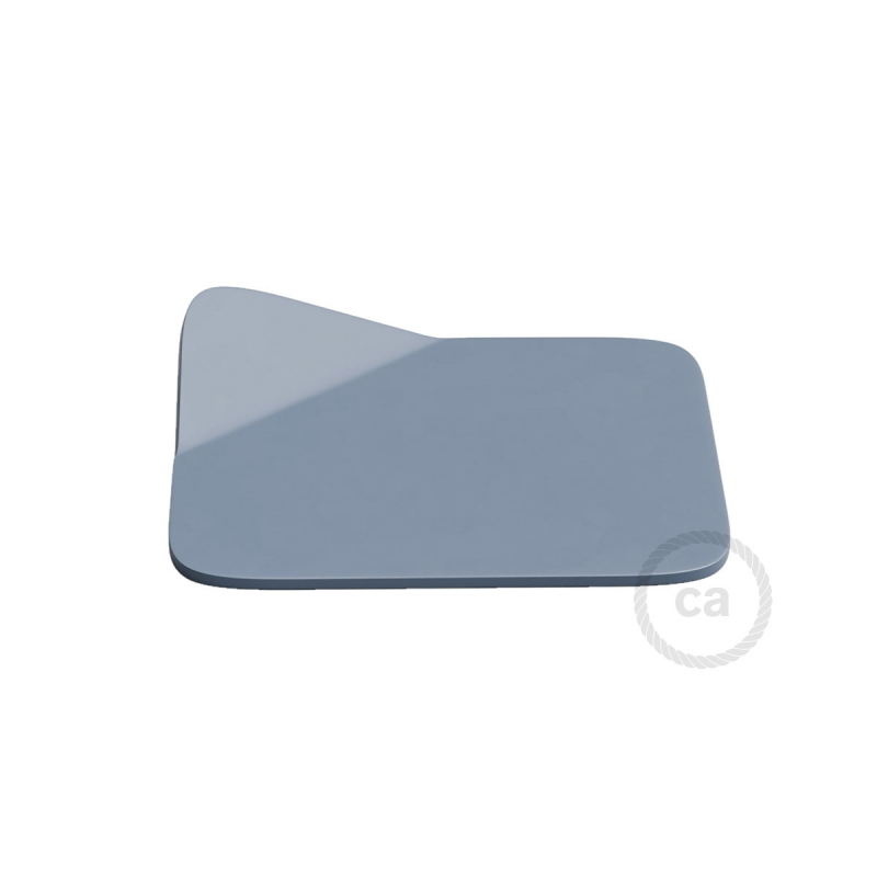 Magnetico®-Base Blue, metal base for smooth surfaces for Magnetico®-Plug