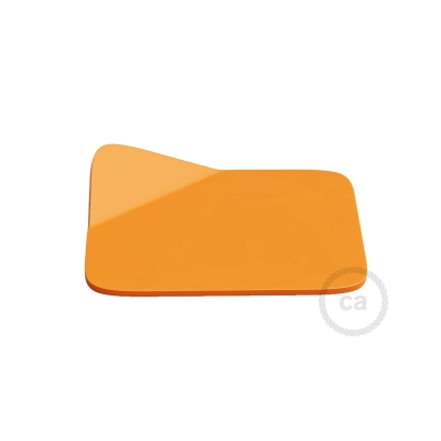 Magnetico®-Base Orange, metal base for smooth surfaces for Magnetico®-Plug