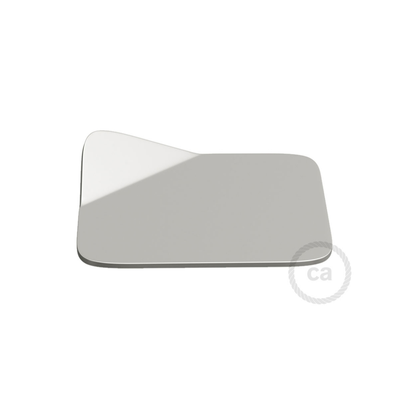 Magnetico®-Base Chrome, metal base for smooth surfaces for Magnetico®-Plug