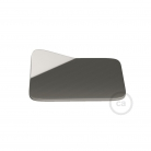 Magnetico®-Base Brushed Metal, metal base for smooth surfaces for Magnetico®-Plug