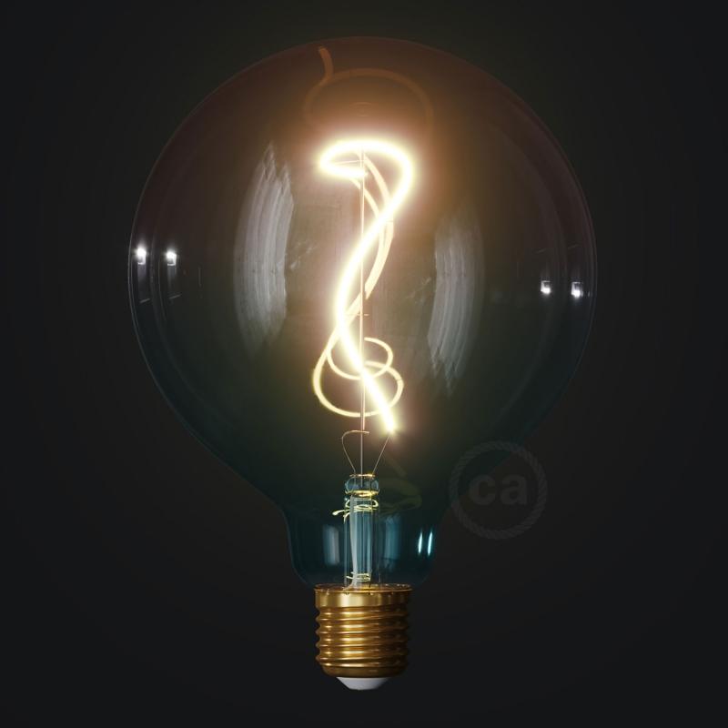 LED Light Bulb G125 Dream, Pastel collection, vine filament 4W E27 Dimmable 2200K