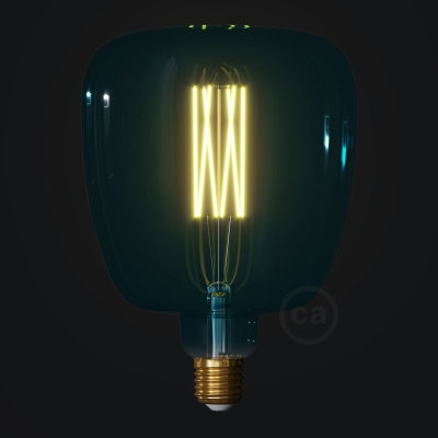 LED Light Bulb Bona Ocean blue, Pastel collection, straight filament 4W E27 Dimmable 2200K
