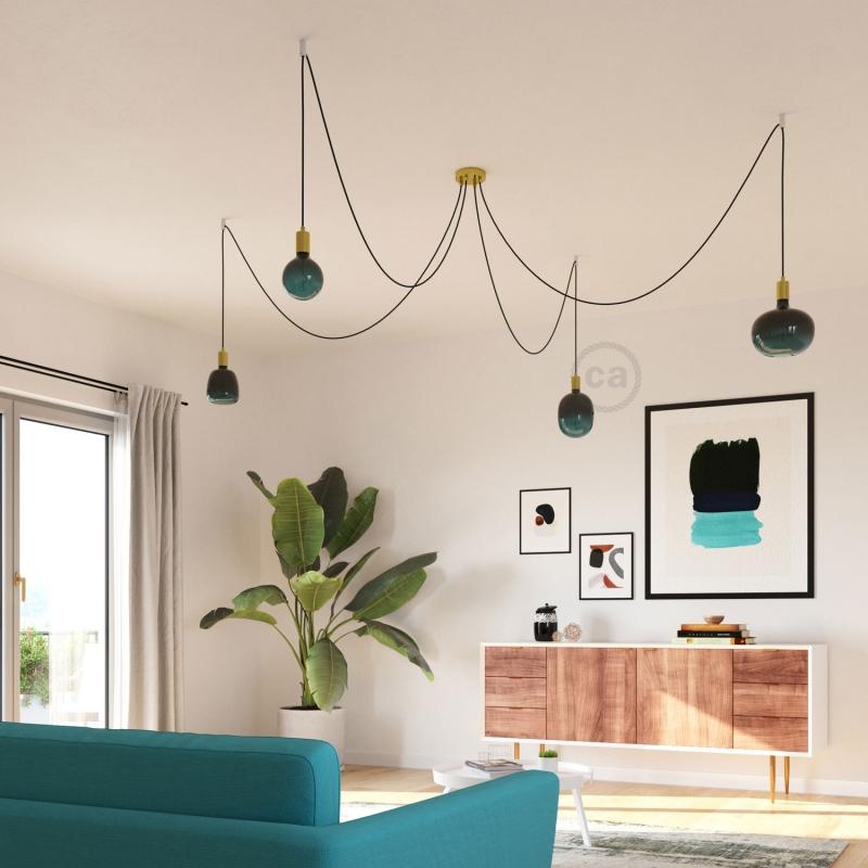 LED Light Bulb Egg Dusk, Pastel collection, vine filament 4W E27 Dimmable 2200K