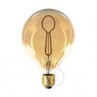 LED Light Bulb Globe G125 Masterchef line Spoon Filament 4W E27 Dimmable 2000K