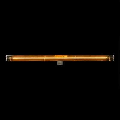 S14d LED linear line tube gold light bulb - 500 mm lenght 8W 2000K dimmable - for Syntax