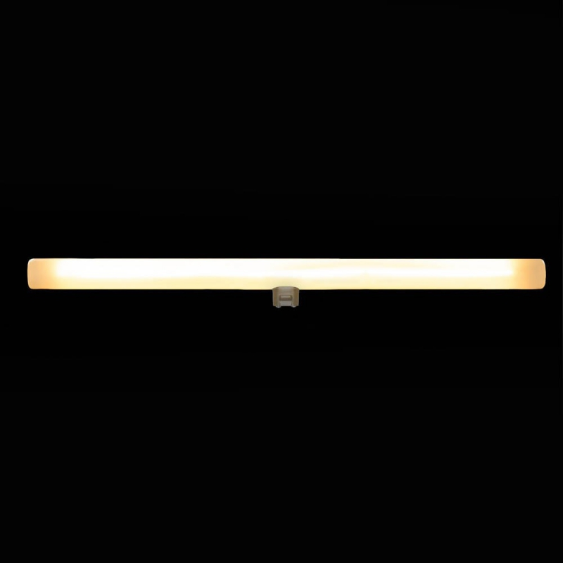 S14d LED linear line tube opal light bulb - 500 mm lenght 12W 2200K dimmable - for Syntax