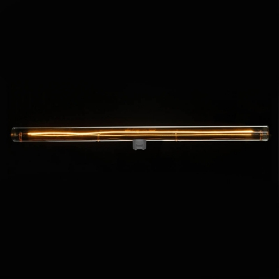 S14d LED linear line tube smoky grey light bulb - 500 mm lenght 12W 2200K dimmable - for Syntax