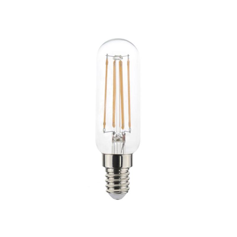 Tubular LED Light bulb 4,5W E14 Clear Dimmable