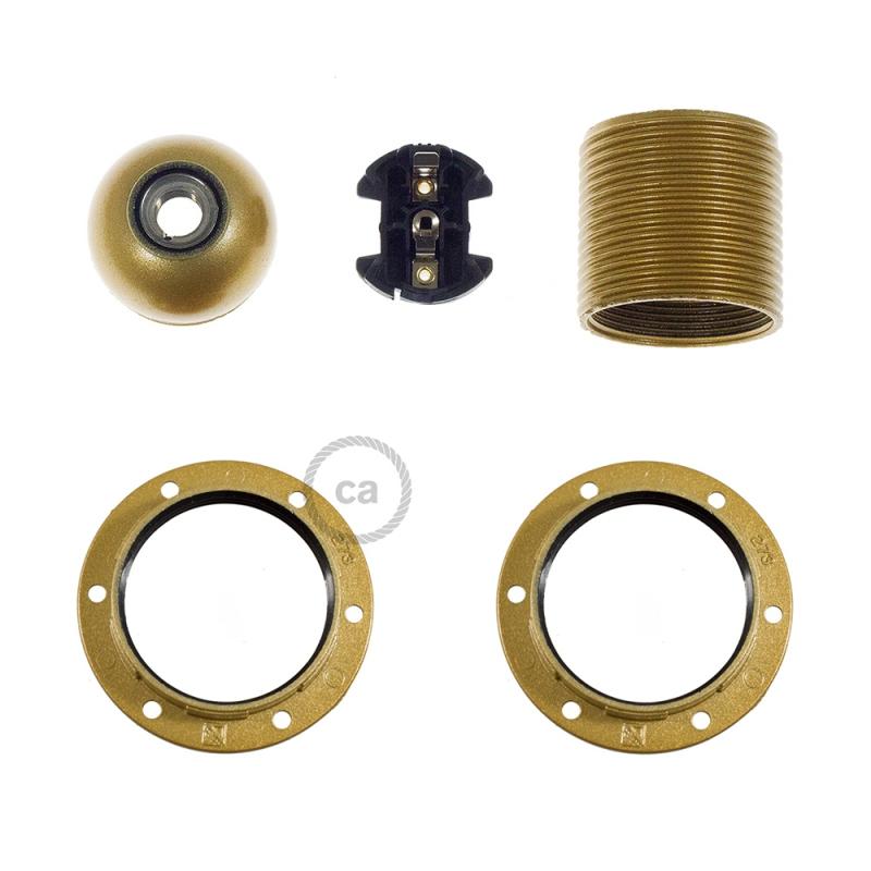 Bakelite E27 lamp holder kit for lampshade