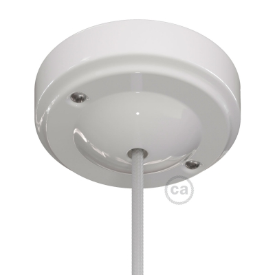 "Porcelain ""Minimal"" ceiling rose kit"