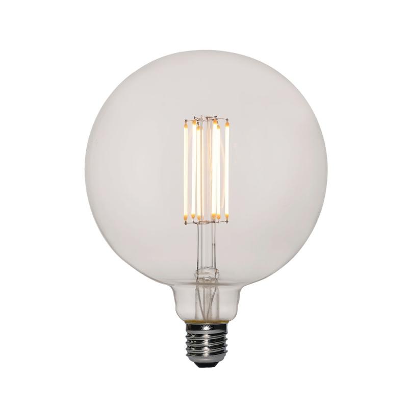 LED XXL Transparent Light Bulb Globe G155 Long Filament 7W E27 Dimmable 2200K