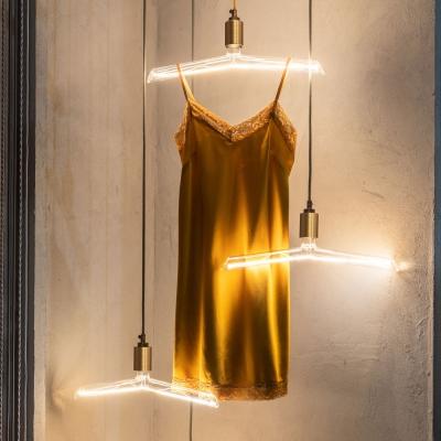 LED Transparent Light Bulb - Hanger Artistic Filament - 4W E27 Dimmable 3000K