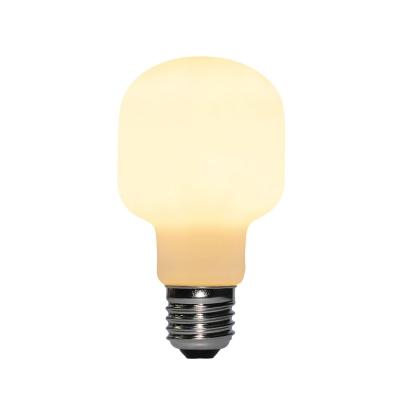 Led Porcelain Light Bulb Milo 6W E27 Dimmable 2700K