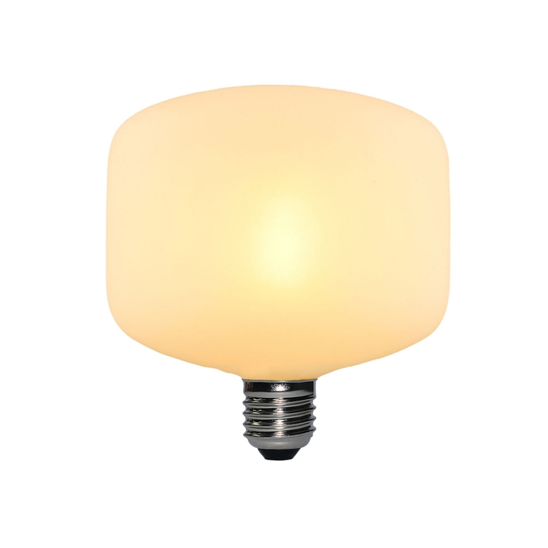 LED Porcelain Light Bulb Creta 6W E27 Dimmable 2700K