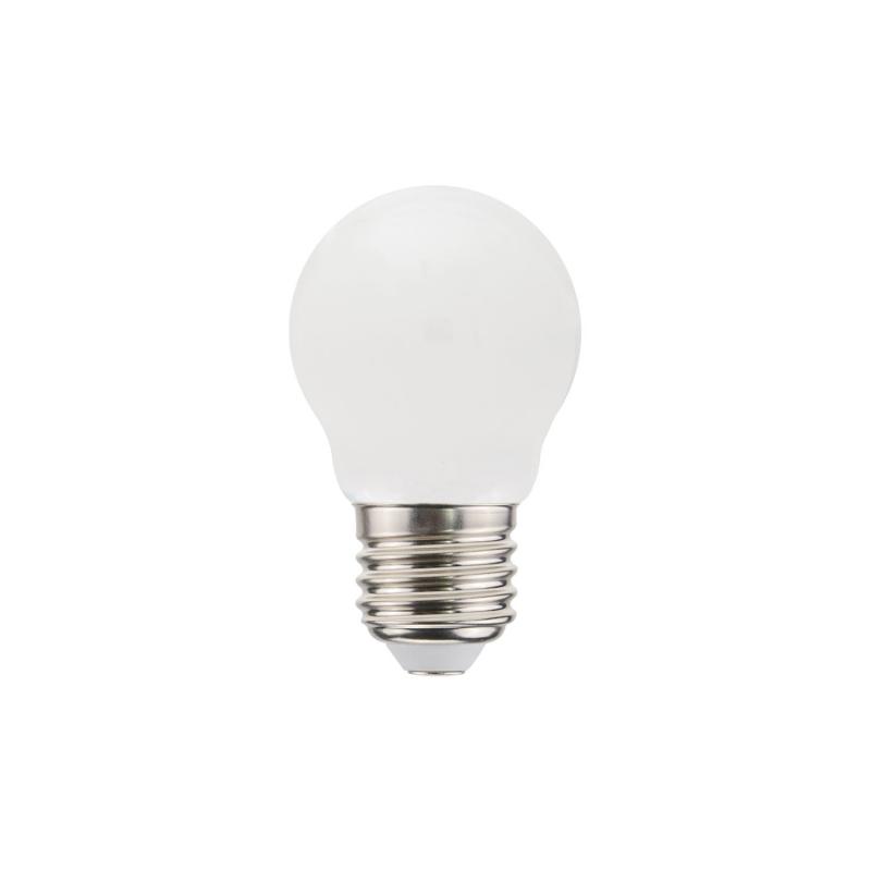 Decorative G45 Miniglobe Milky LED bulb 4,5W E27 Dimmable 2700K