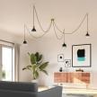 Bona Dark Shadow LED XXL bulb, Pastel line, Spiral filament 4W E27 Dimmable 2100K