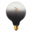 G125 Dark Shadow LED bulb, Pastel line, Spiral filament 4W E27 Dimmable 1900K