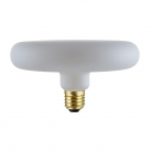 DASH D170 LED White Frosted bulb twisted filament 6W E27 Dimmable 2700K