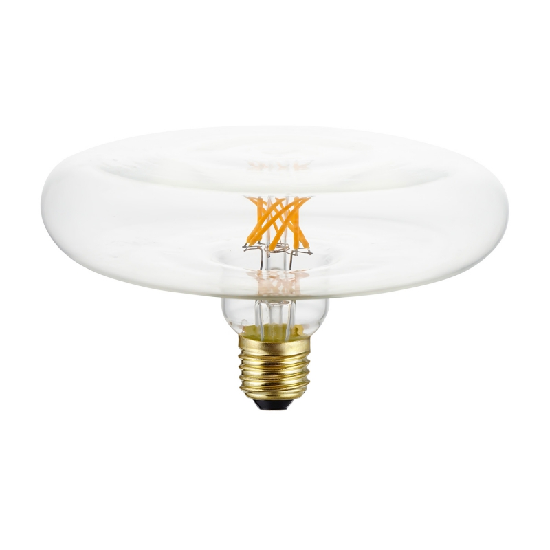 DASH D170 LED Clear bulb twisted filament 6W E27 Dimmable 2700K