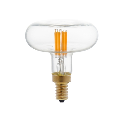 DASH D66 LED Clear bulb straight filament 4W E14 Dimmable 2700K