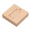 Square base for Archet(To) in natural wood
