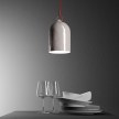 Mini Bell XS ceramic lampshade for suspension - Made in Italy
